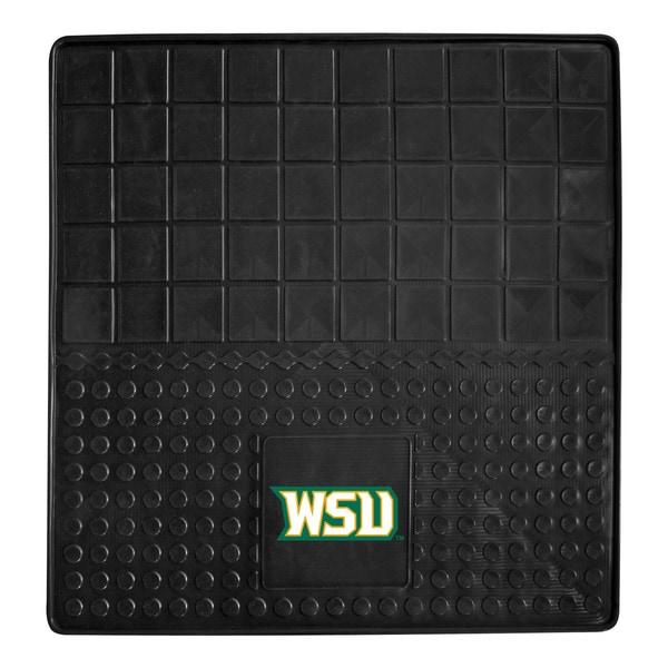 Fanmats Wright State University Black Vinyl Heavy Duty Cargo Mat (2'6 x 2'6)