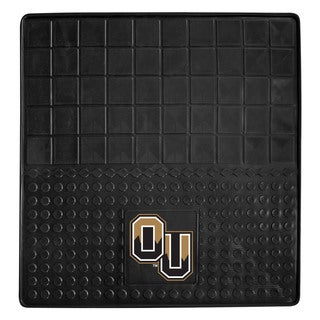 Fanmats Oakland University Black Vinyl Heavy Duty Cargo Mat (2'6 x 2'6)