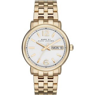 Marc Jacobs Women's MBM8647 'Fergus' Stainless Steel Watch|https://ak1.ostkcdn.com/images/products/10383373/P17488155.jpg?impolicy=medium