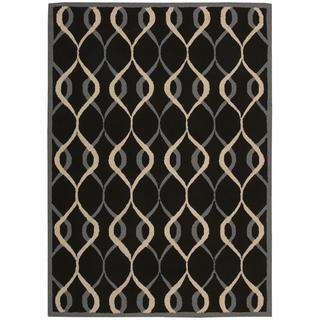 Nourison Decor Black Rug (5' x 7')