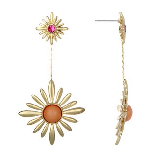Sunburst Dangle Earrings