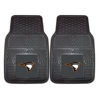 Fanmats Anderson University Black Vinyl 2-Piece Car Mat Set (1'5 x 2'3)