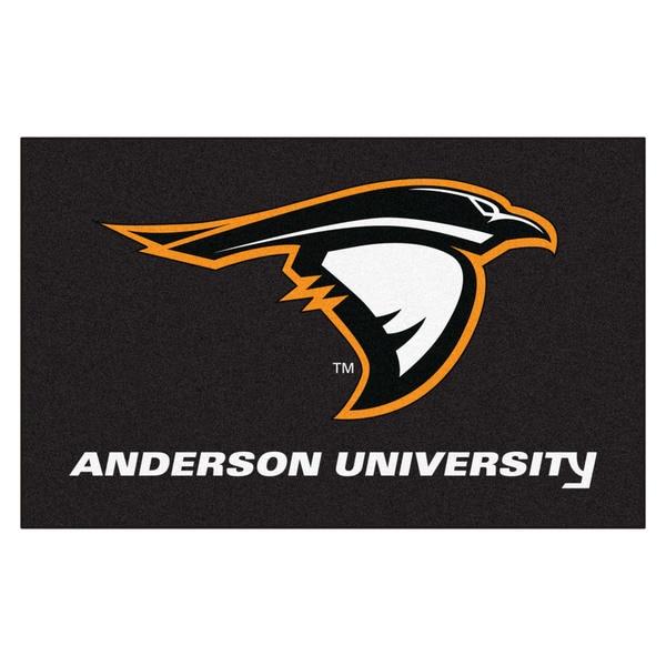 Fanmats Anderson University Black Nylon Ulti-Mat (5' x 8')