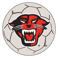 Fanmats Davenport University White Nylon Soccer Ball Mat (2'2 x 2'2)
