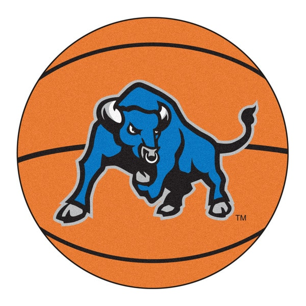 Fanmats State University of New York at Buffalo Orange Nylon Basketball Mat (2'2 x 2'2)