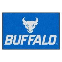 Fanmats State University of New York at Buffalo Blue Nylon Stater Rug (1'6 x 2'5)