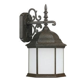 Capital Lighting Mainstreet Collection Energy Saver 1-light New Tortoise Outdoor Wall Lantern