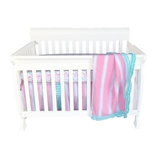 Pam Grace Creations Simply Posh 4-Piece Crib Bedding Set