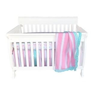 Pam Grace Creations Simply Posh 4-Piece Crib Bedding Set