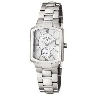 Philip Stein Women's 21-CMOP-SS3 'Signature' Mother of Pearl Dial Stainless Steel Swiss Quartz Watch|https://ak1.ostkcdn.com/images/products/10383618/P17488417.jpg?impolicy=medium