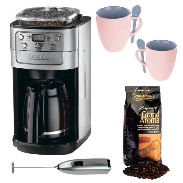 Cuisinart Automatic Grind And Brew Coffee Maker Problems : Cuisinart DGB-700BC Grind & Brew 12-Cup Automatic Coffeemaker Bundle - Free Shipping Today ...