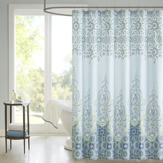 Madison Park Armelle Cotton Shower Curtain