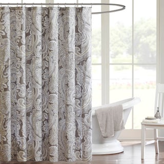 The Gray Barn Mission Creek Cotton Shower Curtain