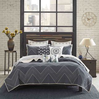 Ink+Ivy Pomona 3-Piece Cotton Coverlet Set