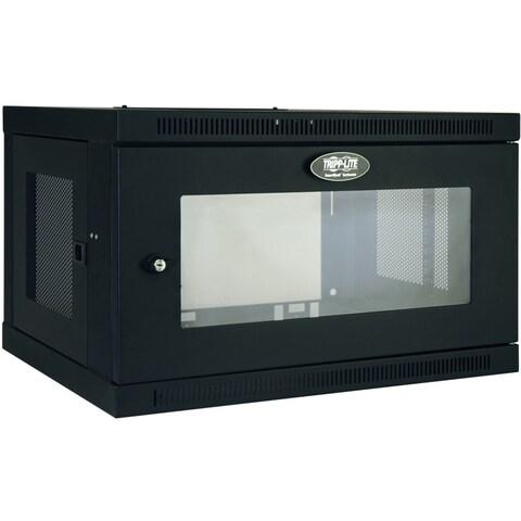 Tripp Lite 6U Wall Mount Rack Enclosure Server Cabinet w/ Acrylic Win
