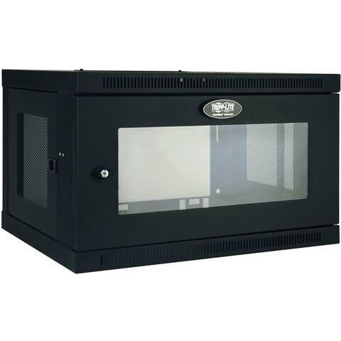 Tripp Lite 6U Wall Mount Rack Enclosure Server Cabinet w/ Acrylic Window