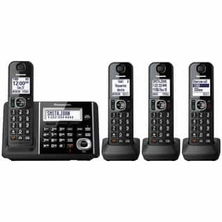 Panasonic KX-TGF344B Cordless Phone and Answering Machine with 4 Handsets|https://ak1.ostkcdn.com/images/products/10384734/P17489282.jpg?impolicy=medium