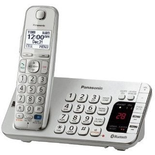Panasonic KX-TGE270S DECT 6.0 Expandable Digital Cordless Answering System (Refurbished)