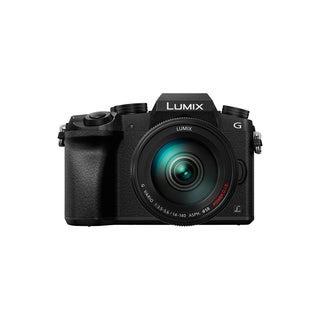 Panasonic LUMIX DMC-G7HK Digital Single Lens Mirrorless Camera 14-140 mm Lens Kit, 4K (Black)