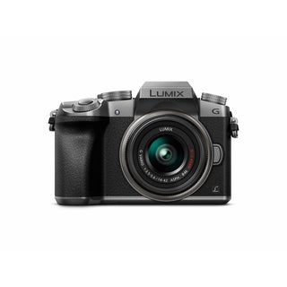 Panasonic LUMIX DMC-G7KS Digital Single Lens Mirrorless Camera Kit with 14-42MM Lens Kit, 4K (Silver)