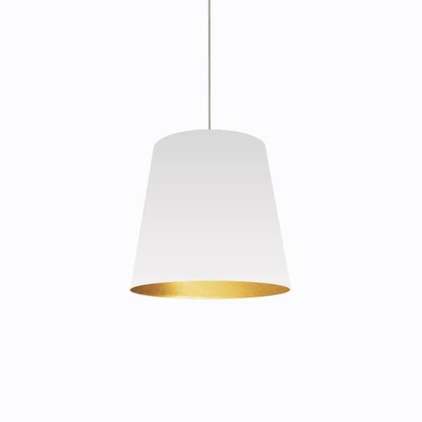 Dainolite 1 light oversized drum pendant with white on gold shade in dainolite 1 light oversized drum pendant with white on gold shade in medium mozeypictures Images