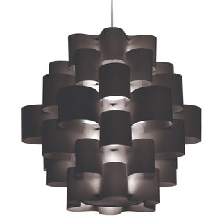 Dainolite 9-light Zulu Pendant Black