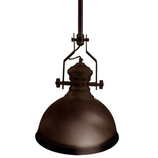 Dainolite 1-light Pendant in Vintage Oiled Bronze Finish