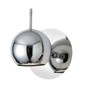 Dainolite 1-light Polished Chrome Spot Light