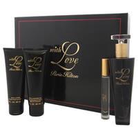 Paris Hilton with Love Women's 4-piece Gift Set
