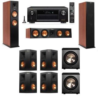 Klipsch RP-250F Tower Speakers CH-PL-200-7.2-Denon AVR-X4100W