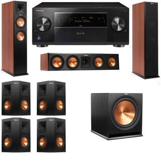 Klipsch RP-250F Tower Speakers CH-RP-440C-7.1-Pioneer Elite SC-85
