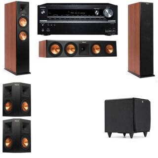 Klipsch RP-250F Tower Speakers CH-SDS12-5.1-Onkyo TX-NR838