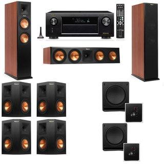 Klipsch RP-250F Tower Speakers CH-SW-112-7.2-Denon AVR-X4100W