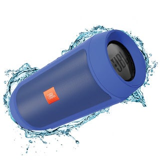 JBL Charge 2+ Portable Bluetooth Splashproof Speaker - Blue