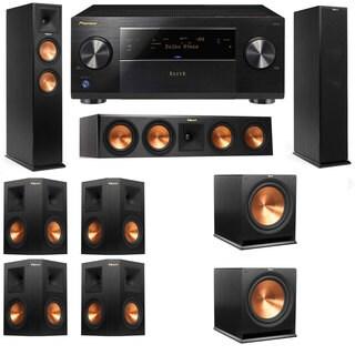 Klipsch RP-250F Tower Speakers-RP-440C-7.2-Pioneer Elite SC-85
