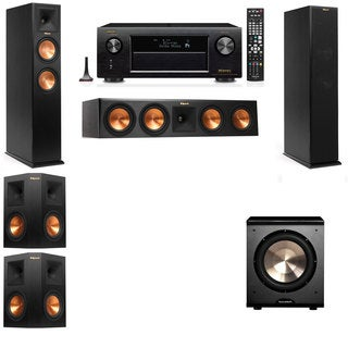 Klipsch RP-250F Tower Speakers-PL-200-5.1-Denon AVR-X4100W