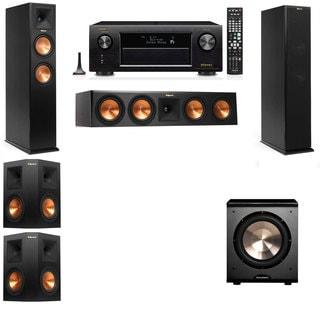 Klipsch RP-250F Tower Speakers-PL-200-5.1-Denon AVR-X4100W