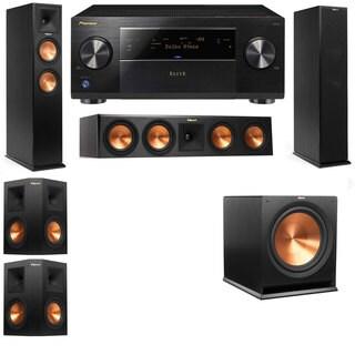 Klipsch RP-250F Tower Speakers-RP-440C-5.1-Pioneer Elite SC-85