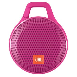 JBL Clip+ Portable Bluetooth Splashproof Speaker - Pink