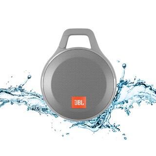 JBL Clip+ Portable Bluetooth Splashproof Speaker - Gray