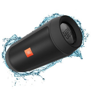 JBL Charge 2+ Portable Bluetooth Splashproof Speaker - Black