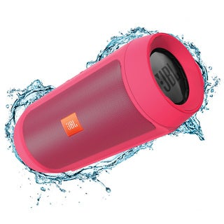 JBL Charge 2+ Portable Bluetooth Splashproof Speaker - Pink