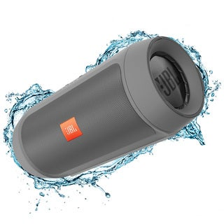 JBL Charge 2+ Portable Bluetooth Splashproof Speaker - Gray