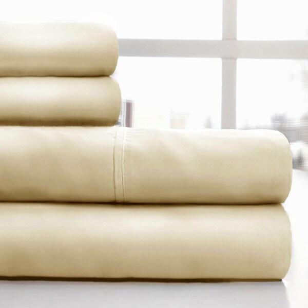 Windsor Home 600 Thread Count Cotton Sateen Sheet Set