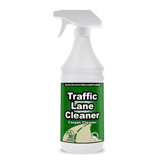 Traffic Lane Cleaner 32-ounce Natural Carpet Residue-free Shampoo