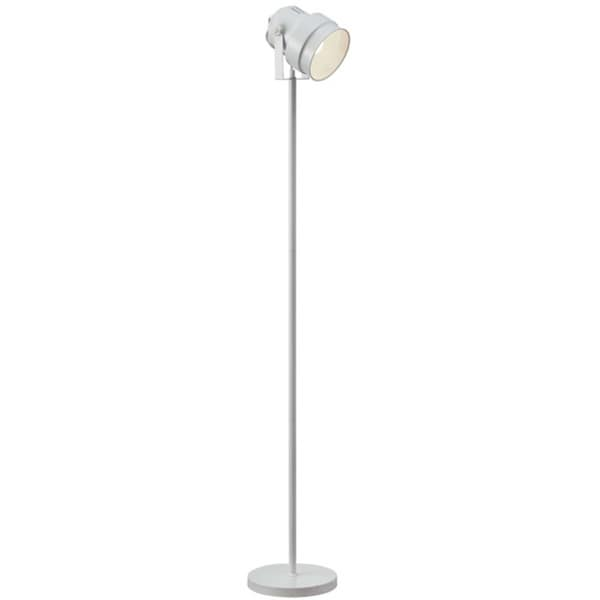 Dainolite Floor Spot-light in White Finish