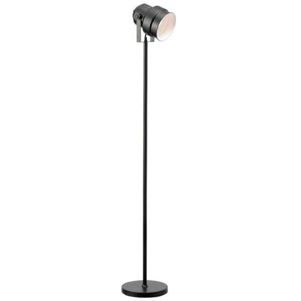Dainolite floor spot light in black finish free shipping for Dainolite 7 light floor lamp