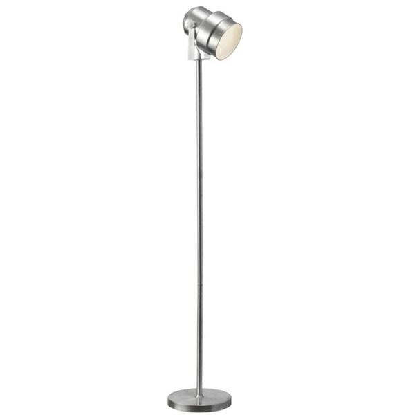 Dainolite Floor Spot-light in Brushed Aluminum Finish