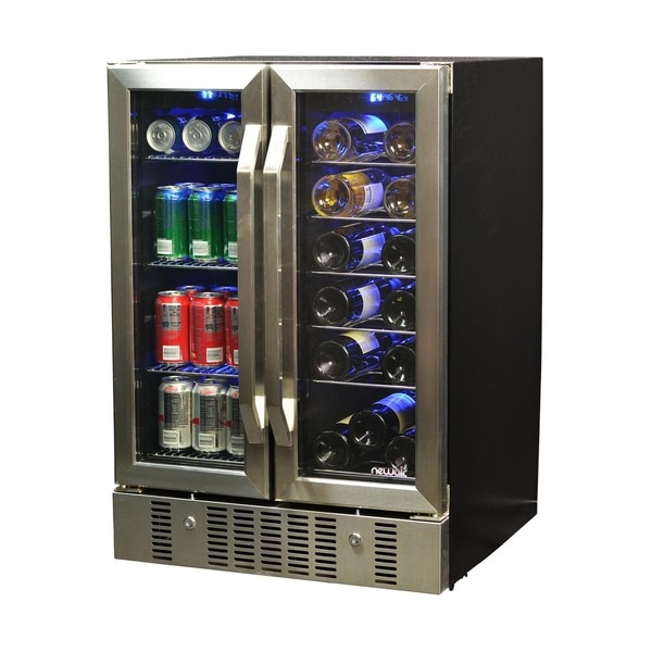 Shop Newair 18 Bottle 52 Can Dual Zone Wine And Beverage
