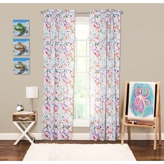 Exceptional Crayola Splat 84 Inch Window Panel